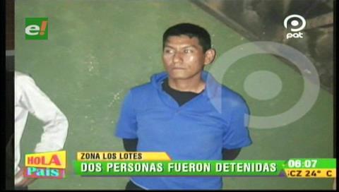 Detienen a dos atracadores en Los Lotes