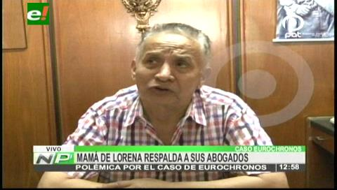 Eurochronos: Abogados de la familia Torrez lamentan declaraciones del coronel Gonzalo Medina