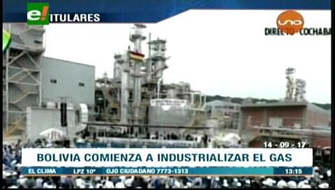 Video titulares de noticias de TV – Bolivia, mediodía del jueves 14 de septiembre de 2017