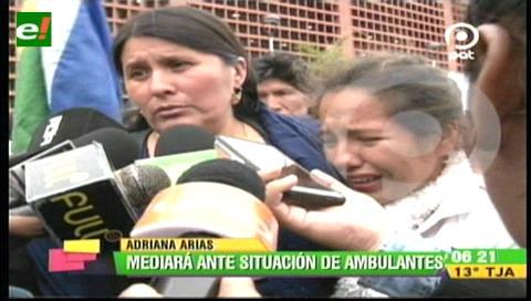 Diputada Arias mediará en el conflicto Alcaldía-comerciantes