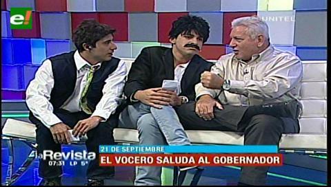 """El """"vocero del pueblo"""" terminó intimidado por el gobernador Rubén Costas"""