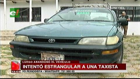 Aprehenden a menor de edad que intentó estrangular a una mujer taxista