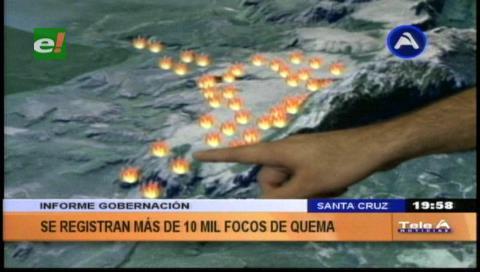 Incendio en cerro de Chochis afectó más de 2.000 hectáreas