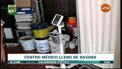 Villa Primero de Mayo: Centro médico es convertido en un depósito