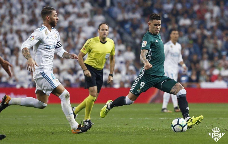 Betis venció al Real Madrid en la ¡última jugada!