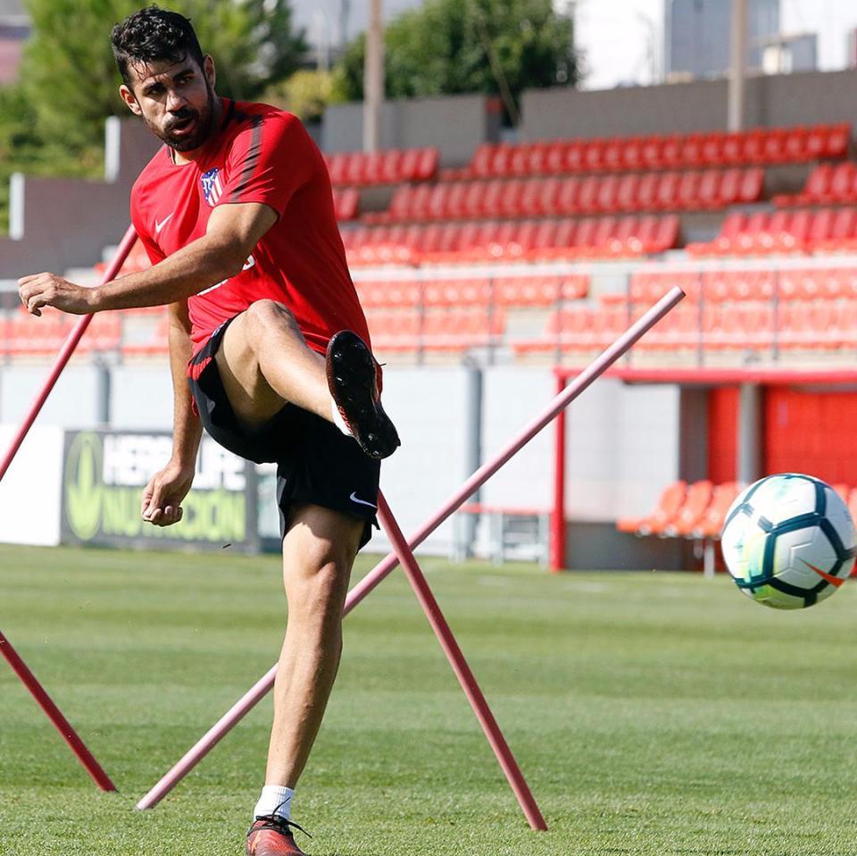 Diego Costa comenzó su pretemporada en Atlético de Madrid