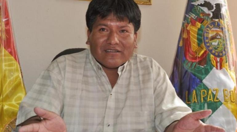 Resultado de imagen de El gobernador de Oruro, Víctor Hugo Vásquez