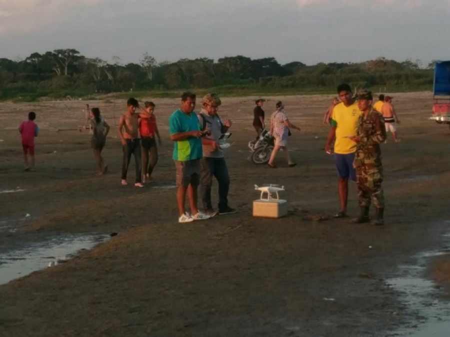 Buscan a 4 hermanos arrastrados por el río Mamoré