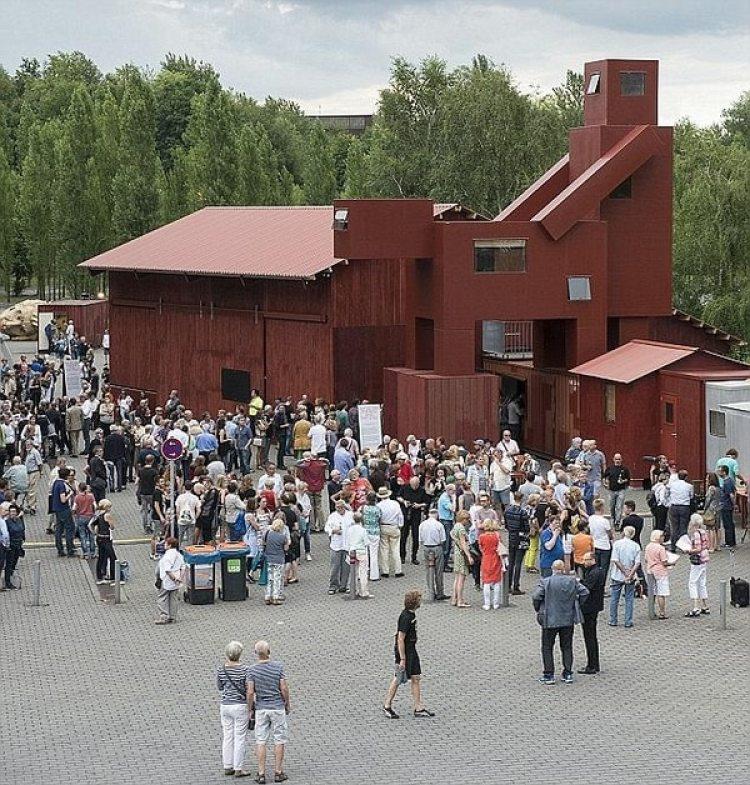 """""""Domestikator"""" expuesto en Bochum, Alemania en 2015"""