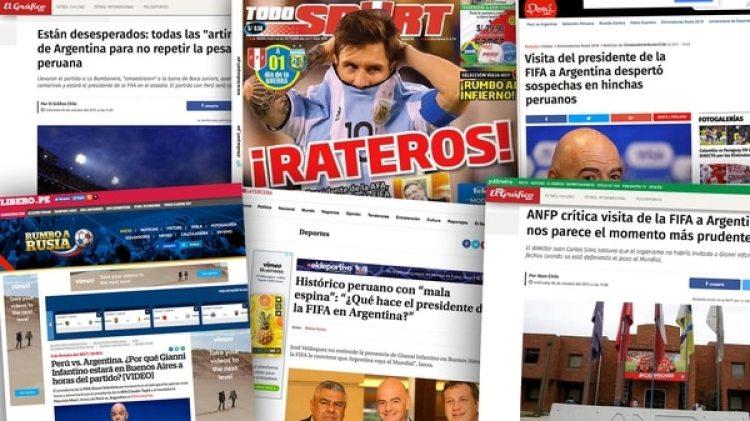 Los medios chilenos y peruanos estallaron tras la reunión