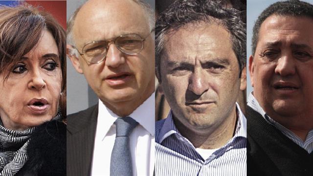 Cristina Kirchner, Héctor Timerman, Andrés Larroque y Luis D'Elía, algunos de los denunciados por encubrir el atentado a la AMIA por el fallecido fiscal Alberto Nisman