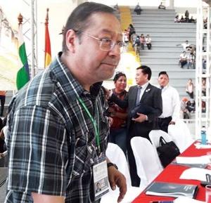 """Luis Arce considera """"insignificante"""" el desfalco al Banco Unión"""