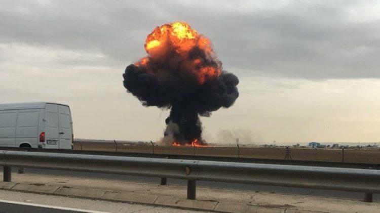 El accidente fue cerca de la base aérea de Torrejón de Ardoz, en Madrid