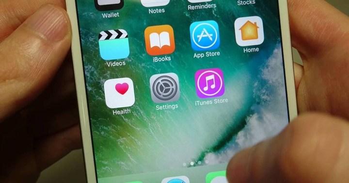 iPhone con aplicaciones instaladas