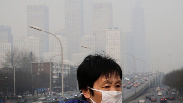 China es uno de los países, junto a India, con más contaminación. (AP)