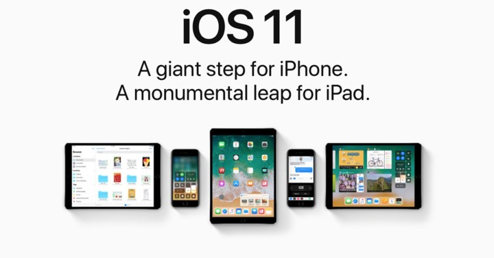versión iOS 11 para iPhone y iPad