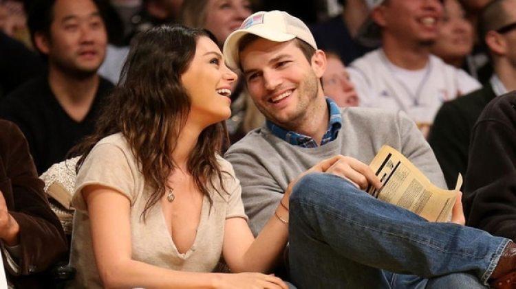 Ashton Kutcher y Mila Kunis son padres de Wyatt Isabelle (AFP)