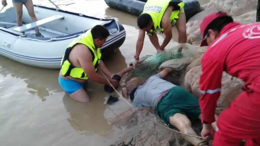 Padre y su hijo mueren ahogados en el Pilcomayo