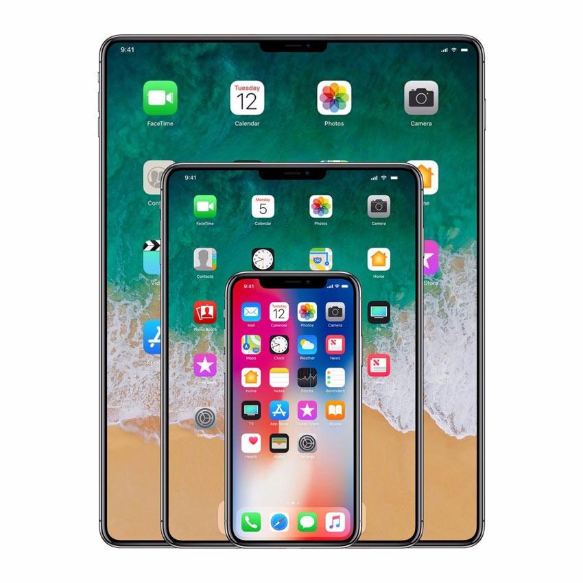 iPad con display sin biseles