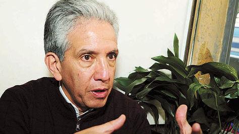 El director de la FCBCB, Cergio Prudencio.