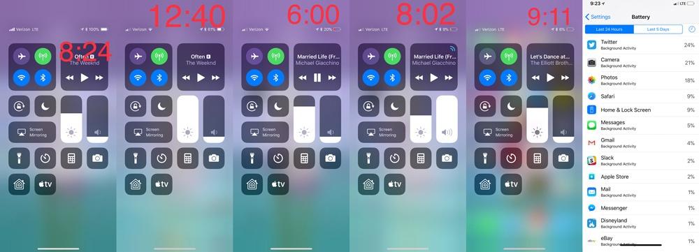 Datos de autonomía ofrecidos por la batería del iPhone X