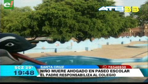 Menor muere ahogado en paseo escolar