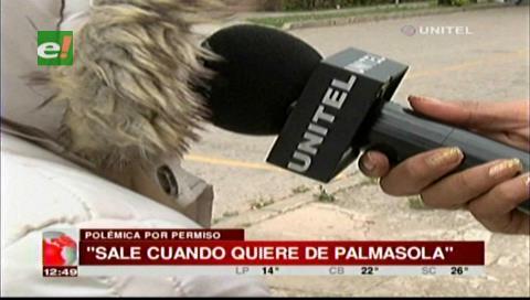 Afirman que reo acusado de asesinato si salió de Palmasola y fue a la Expocruz