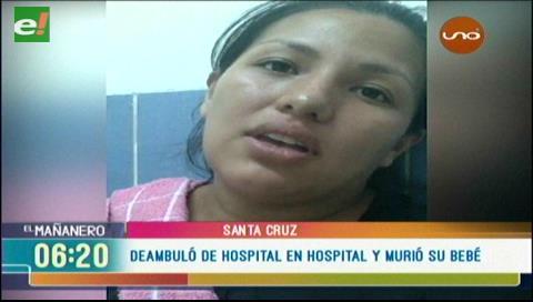 Mujer pierde a su bebé por falta de atención en hospital