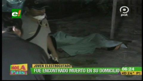 Santa Cruz: Joven muere electrocutado en su domicilio