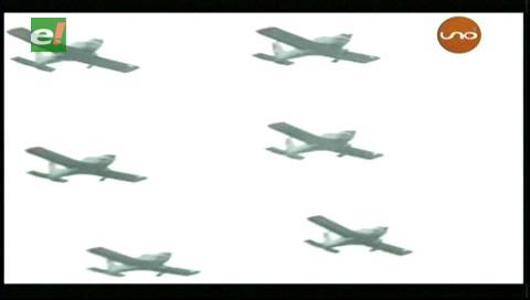 En Villamontes conmemoraron los 94 años de la Fuerza Aérea Boliviana