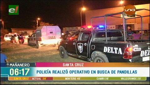 Policía sale a la 'caza' de pandilleros en los barrios