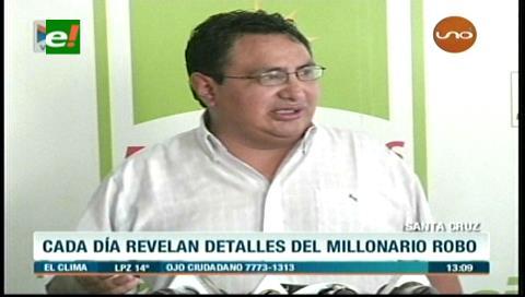 """Amílcar Barral: """"Habría más involucrados en el desfalco al Banco Unión"""""""