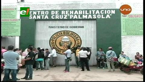 Denuncian cobros para ingresar a Palmasola