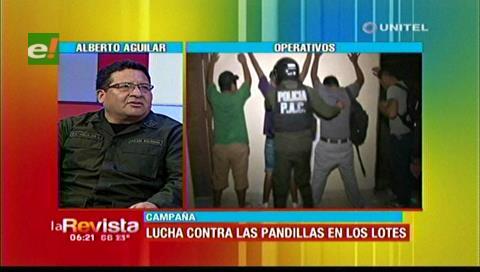 Policía de Los Lotes busca mecanismos para acabar con las pandillas