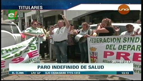 Video titulares de noticias de TV – Bolivia, mediodía del miércoles 25 de octubre de 2017