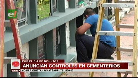 Todos Santos: Controlarán que no se ingrese alcohol y comida a cementerios