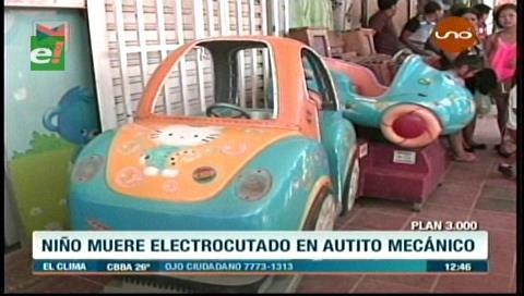 Santa Cruz: Menor muere electrocutado en un carrito mecánico