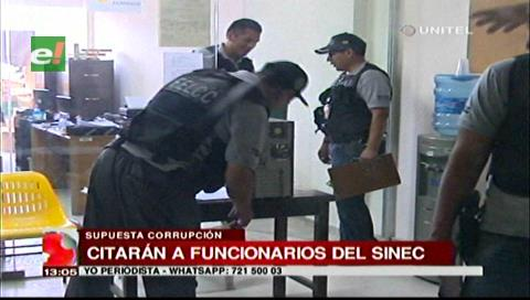 Allanan las oficinas de la gerente del Sinec tras denuncia de trabajadores