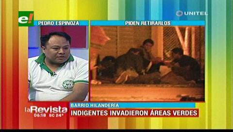 Vecinos del barrio Hilandería en emergencia por el retorno de indigentes