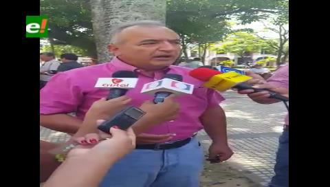 Diputado Feeney niega que bancada de UN apoye la repostulación de Evo Morales