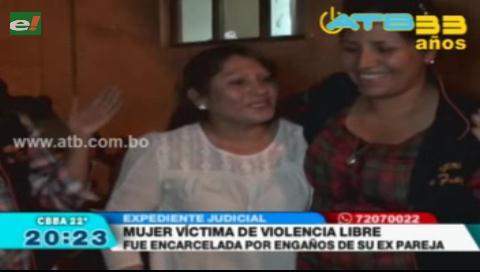 Liberaron a una mujer víctima de violencia tras 4 meses en la cárcel por una falsa denuncia