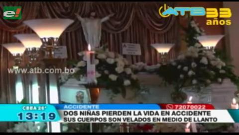 Dos niñas murieron por accidente de tránsito