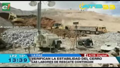 Gobierno solicita estudios de emergencia para verificar la estabilidad del Cerro Rico