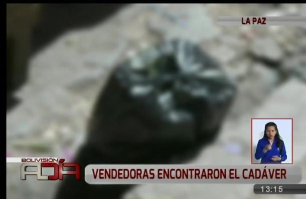 Vendedoras encontraron el cadáver de un bebé en una bolsa