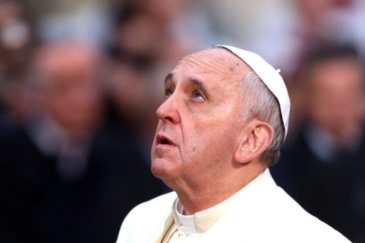 Una foto del Papa Francisco en Roma en 2013(Franco Origlia/Getty Images)