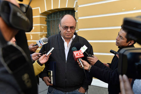 El ministro de Defensa, Reymi Ferreira. Foto: La Razón