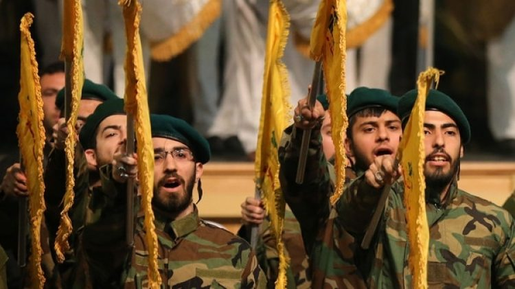 Militantes de Hezbollah (AP)