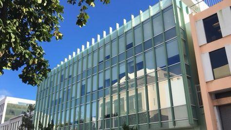 Vista exterior de las oficinas de Appleby en Hamilton, Bermudas, desde donde se filtraron documentos financieros apodados
