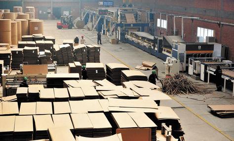 Producción. La planta de Cartones de Bolivia (Cartonbol) se encuentra en la carretera a Vinto, en Oruro.