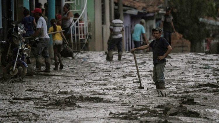 Escenas de devastación en Corinto, Cauca. (AFP)